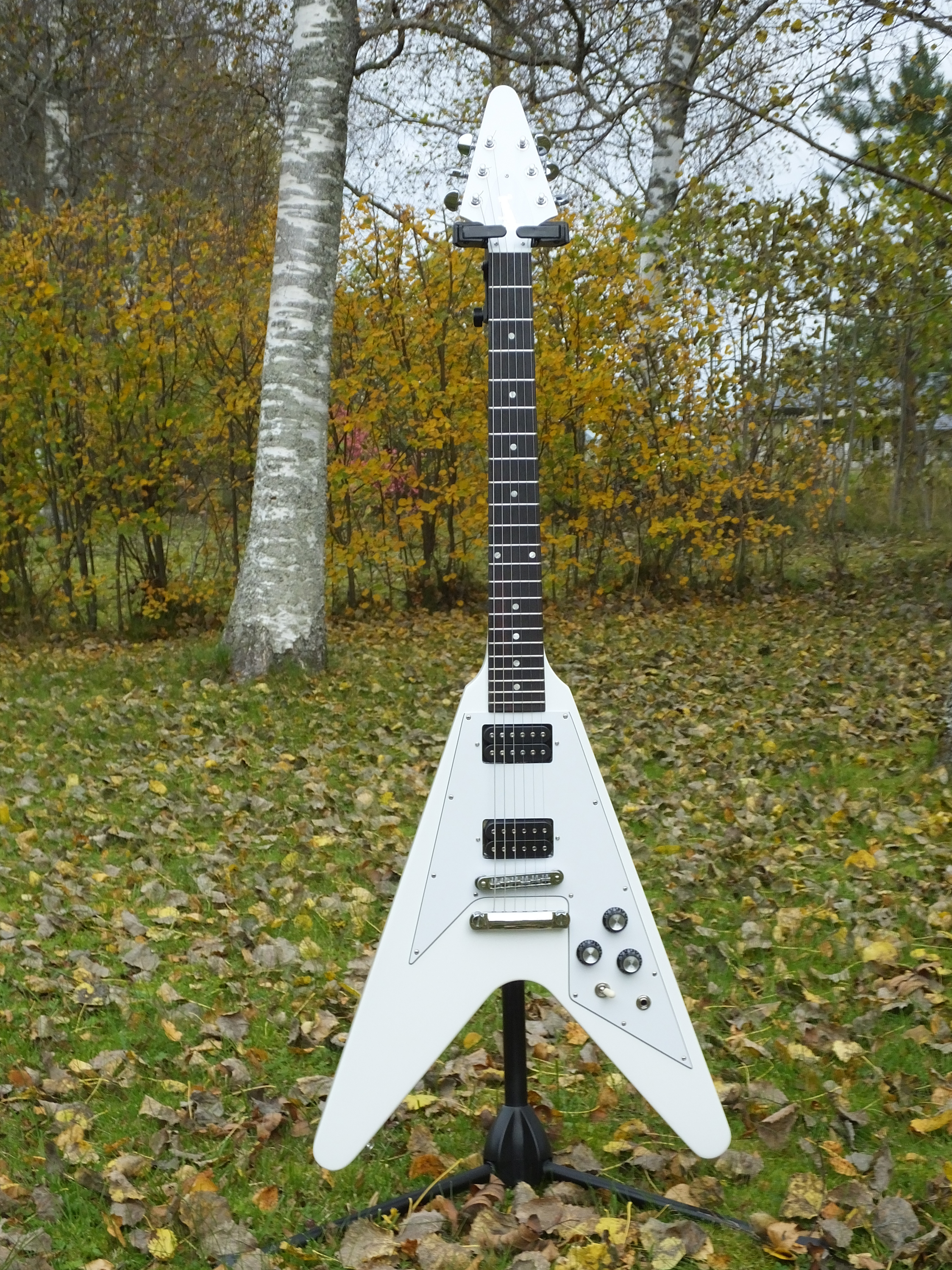 Gibson Flying-V Government Series II White 2013 (0).JPG